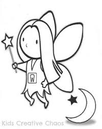 tooth fairy coloring page sketch idea for a tooth fairy kit 1 by lewisiadreaming on etsy