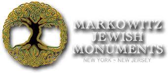 headstones nj markowitz monuments ny and nj hebrew granite headstones