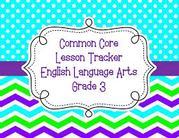 sample lesson plans to teach common core state standards for