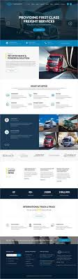responsive web design layout template road transportation company wordpress template themes business
