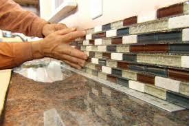 install backsplash in kitchen 35 inspirational installing a tile backsplash images home