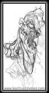 for unique archive art galleries zombie sketch 1