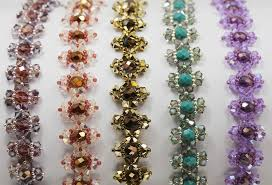 bracelet patterns free images Deb roberti 39 s jeweled bracelet pattern jpg