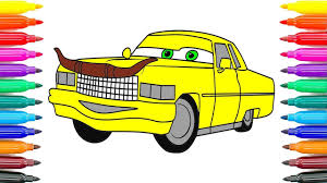 how to drawing cars 3 tex dinoco coloring pages how to paint tex