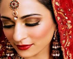 indian bride makeup in hindi