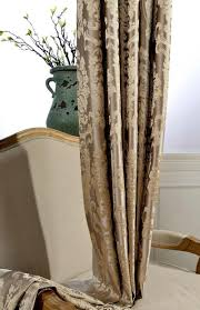 blackout curtains for living room luxury jacquard blue window