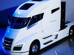 build a volvo truck nikola u0027s tesla inspired electric truck could make hydrogen power