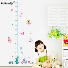 Home Decoration Online Shop Online Shop Kids Height Chart Wall Sticker Home Decor Cartoon