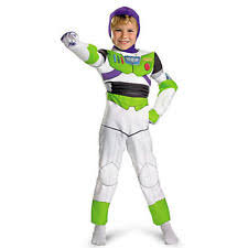 Toy Story Halloween Costumes Toddler Disney Pixar Toy Story Buzz Lightyear Deluxe Toddler Child Costume