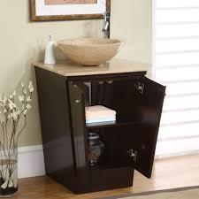 White Bathroom Vanity With Vessel Sink Bathroom Vanities Marvelous Amazoncom Silkroad Exclusive