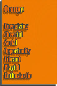 orange and color color orange color psychology personality meaning