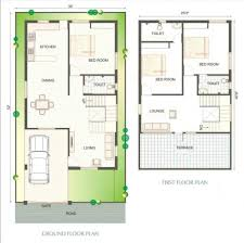 Home Design 40 60 by 40 X 60 House Plans India