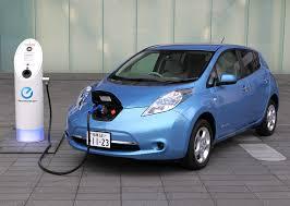 nissan leaf fast charger electric vehicle charger inhabitat green design innovation