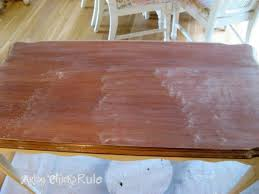 Stained Coffee Table Update Old Wood Stained Furniture Easily U0026 Quickly Artsy