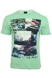 Bench Mens T Shirts Bench Mens T Shirt U0027synchro U0027 Short Sleeved Ebay