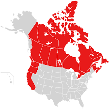 Map Of Canada And United States by States Give Trump The Finger Form United States Climate Alliance