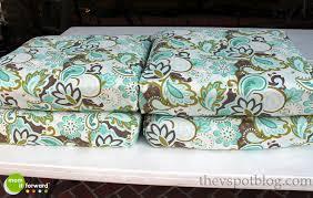 Blue Outdoor Cushions Dining Room Great Aqua Blue Outdoor Chair Cushion Deep Seating