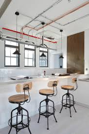 Industrial Loft Design by Industrial London Loft Apartment By Olivier Burns