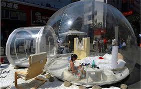 bulle chambre tente gonflable transparente chambre gonflable romantique extérieure