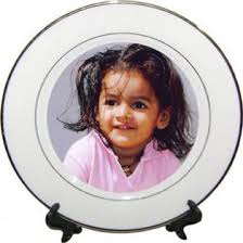 personalized photo plate send personalized plates tiles to bangalore online personalized