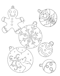 christmas ornaments lines and thoughts