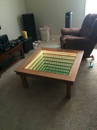 see how this kid built an awesome infinity table for a class project