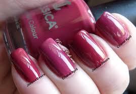 jessica custom nail colour vs chanel april may and june