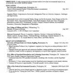Graduate Student Resume Templates Graduate Student Resume Templates Career Services At The