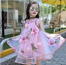 2017 2017 summer style girls kids fashion flower lace knee high