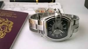 cartier watches bracelet images Cartier roadster how to remove bracelet and fit the leather jpg