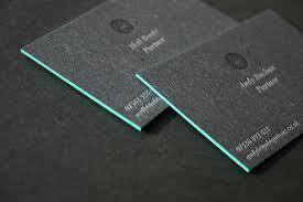 cards for business 50 fresh letterpress business cards designmodo