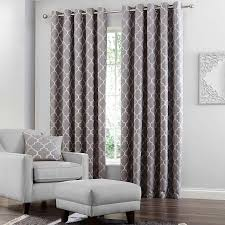 Bay Window Pole Suitable For Eyelet Curtains Grey Bali Lined Eyelet Curtains Dunelm Curtains Pinterest