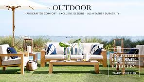 Shop Outdoor Furniture by Outdoor Furniture U0026 Accessories Williams Sonoma