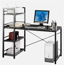 Glass Desk With Storage Glass Office Desks Online Free Shipping U2013 Officedesk Com