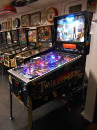 twilight zone pinball machine game for sale by bally led upgrade