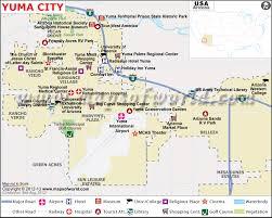map usa place yuma map city map of yuma az