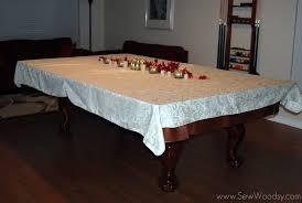 Pool Table Dining Room Table Title U003e Pool Table Dining Room Tablecloth U003c Title U003e Sew Woodsy