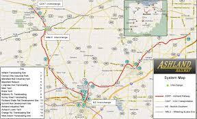 Map Of Mansfield Ohio by Hawkinsrails Net Ashland Railway
