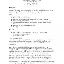 electrical engineering resume for internship senior quality engineer sle resume qa qc useful materials for