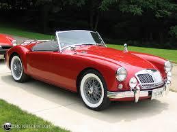 mg 1958 mg mga roadster id 3726