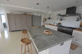 Kitchen Island Worktops Uk Arnolds Kitchens Bespoke Freestanding Built Kitchens Concrete