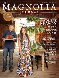 inside fixer upper u0027s chip and joanna gaines u0027 new magazine