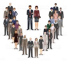 employé de bureau commandes de léquipe employé bureau ensemble groupe de caractères de
