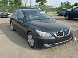 2009 bmw 528xi 2009 bmw 528xi for sale qc montreal salvage cars copart usa