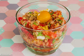 recette de cuisine été photo de recette de salade composée été thon oeuf tomate facile