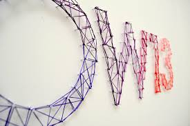 diy string and nail art installation u2013 pop u0026 circumstance