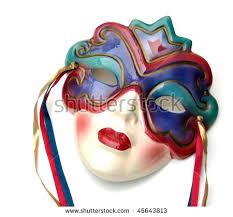 ceramic mardi gras masks colorful ceramic mardi gras mask stock photo 45643813