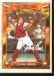 Johnny Bench Fingers Baseball Cards Varietyking