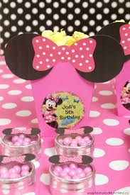 minnie mouse birthday party minnie mouse birthday party chickabug