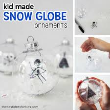 diy snow globe ornaments the best ideas for